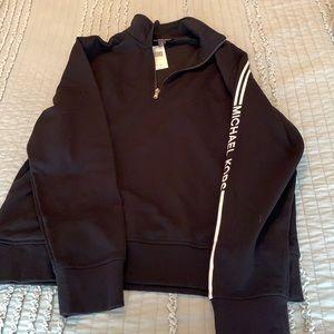 Men's XL Michael Kors Zip sweater NWT
